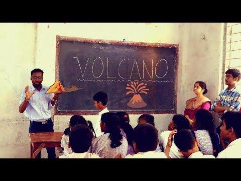 Volcanic eruption_Students' Reaction   Sanjib Mandal   SanGeotics
