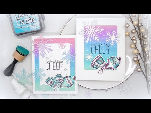 Two-For-One Holiday Cards W/Kelly Ft. HOLIDAY CHEER