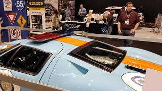 2005 Ford GT Heritage Edition Illinois State Police Walkaround - Chicago Auto Show 2019