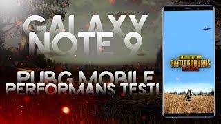 Galaxy Note 9 Grafik Performans Testi | PUBG Mobile