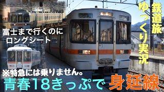 【鉄道旅ゆっくり実況】青春18きっぷで身延線へ