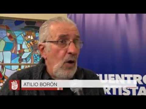 Atilio Borón, intelectual argentino