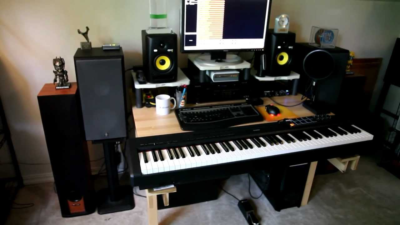 Man Cave Listening Room : Epic ultimate computer room walk though man cave youtube