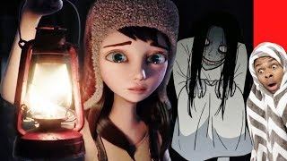 Reacting To True Story Scary Animations Part 12 Do Not Watch Before Bed