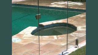 Pool Fence Glass   Ideas Of Fences Around The Pool