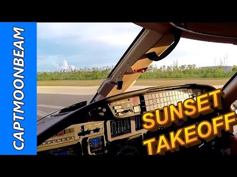 Cessna Citation Takeoff Nassau Bahamas, Pilot Vlog 146