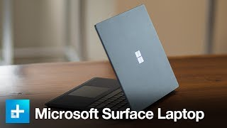 Microsoft Surface Laptop - Hands On Review
