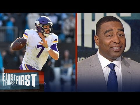 Panthers beat Vikings, 31-24 - Is this the end of Case Keenum's run as QB? | FIRST THINGS FIRST