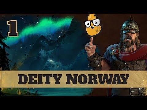 Civ 6 Norway Ep. 1 - Let's Play Civ6 - Buffed Norway!