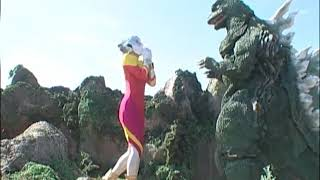 【GEMSTONE ゴジラ 応募作品】「ゴジラ対レキオ Godzilla vs lequio」