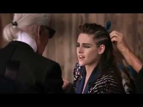 Kristen for Chanel Paris Dallas Campaign - BTS Video