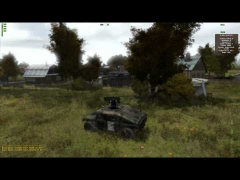DayZ - Drivable Humvee with a Machine Gun