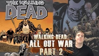The Walking Dead 21 - All out War Part 2 - Video Review Summary
