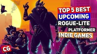 Top 5 Best Upcoming Rogue-lite Platformer Indie Games