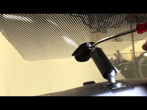 2012 Ford Mustang Rear View Mirror Removal Youtube