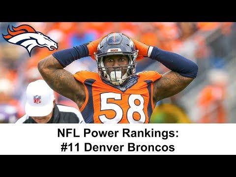 NFL Power Rankings: #11 Denver Broncos