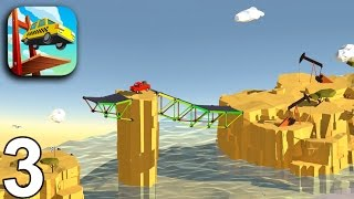 BUILD A BRIDGE Gameplay - Levels 11 12 13 14 15 (iOS Android)