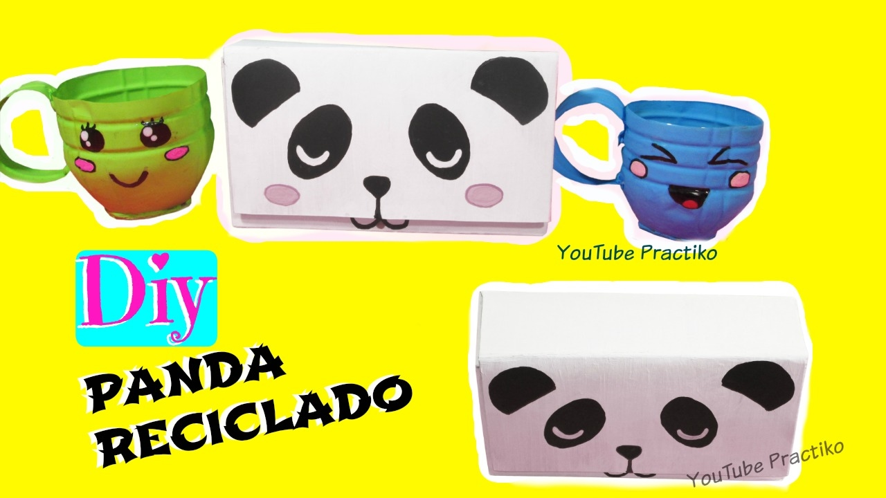 Manualidades kawaii panda para decorar mi cuarto diy for Manualidades para decorar mi cuarto