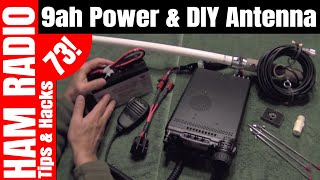Repeat youtube video Portable Battery Power for Yaesu FT-857D