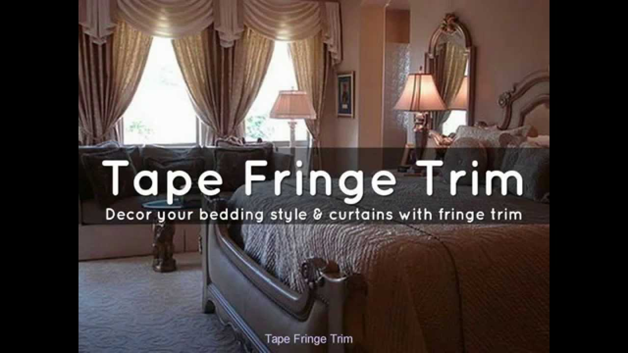 A Creative Ideas For Your Home Decor Project With Fringe Trim