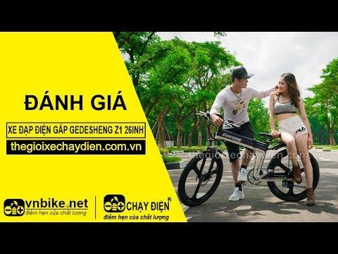 Đánh giá xe đạp điện gấp Gedesheng Z1 26inh