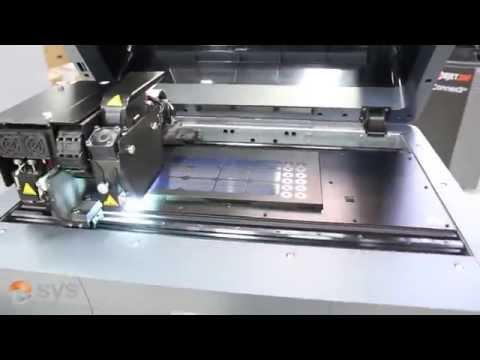 PolyJet 3D Printing (Timelapse)