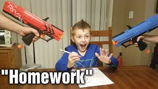 Nerf War: The Test