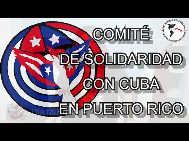 Puerto Rico Día Mundial de Solidaridad con Cuba