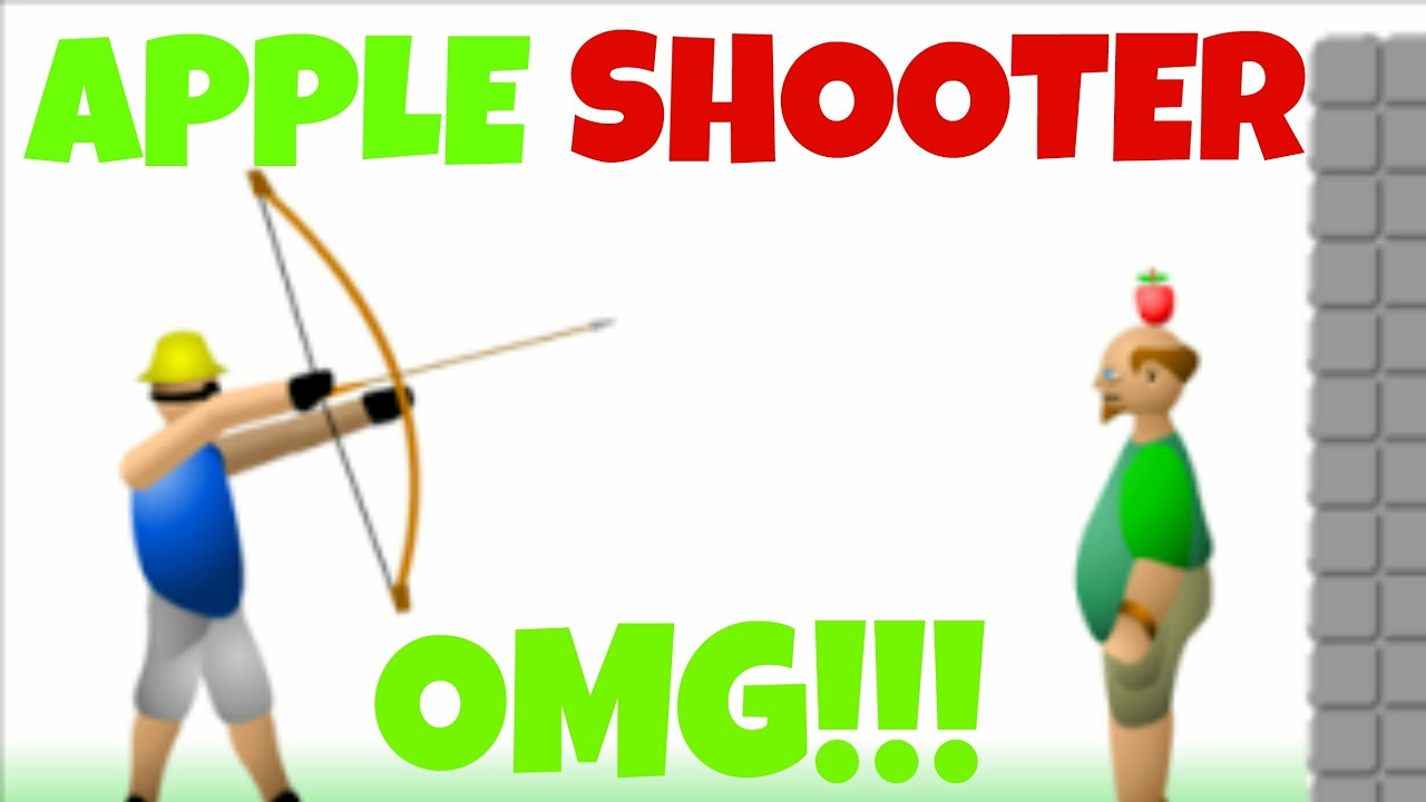 apple shooter gameplay flash game at y8 com youtube