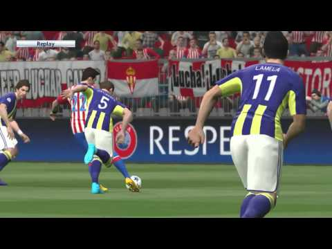 PC HD Gameplay PES 2016 Legend UEFA CHAMPIONS - Real Sporting vs North East London (home)
