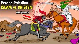 PERANG Kristen Romawi Vs Islam - Penaklukan Kota Al-Quds Yerusalem Palestina || Kisah Nyata Islam