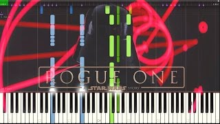 The Imperial Suite Rogue One (A Star Wars Story) [Synthesia Piano Tutorial]