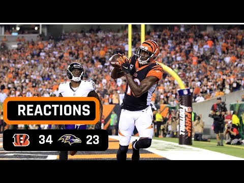Cincinnati Bengals vs Baltimore Ravens Week 2 Thursday Night Football Recap | AJ GREEN IS A MONSTER!