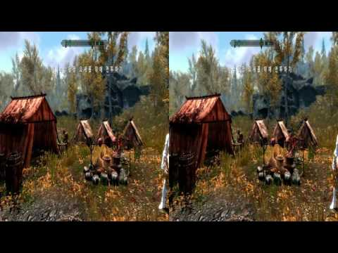 Skyrim 3D (Side by Side)
