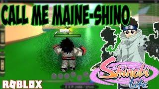 ABURAME CLAN KG   FEELING LIKE SHINO!   ROBLOX SHINOBI LIFE   iBeMaine