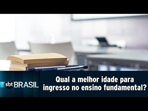 Escolas particulares ainda não têm idade mínima padrão para ingresso no fundamental   SBT Brasil