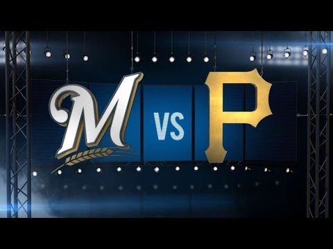 9/4/16: Big bats power Brewers past Pirates, 10-0