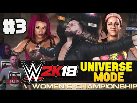 """WWE 2K18 Universe Mode EP 3 - """"RAW WOMENS TITLE - MAIN EVENT!"""" - The Shield's Evolution!"""