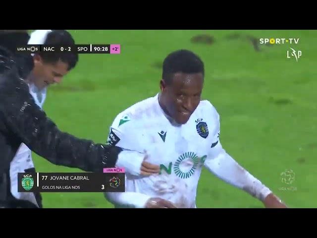 Goal | Golo Jovane: CD Nacional 0-(2) Sporting (Liga 20/21 #13)