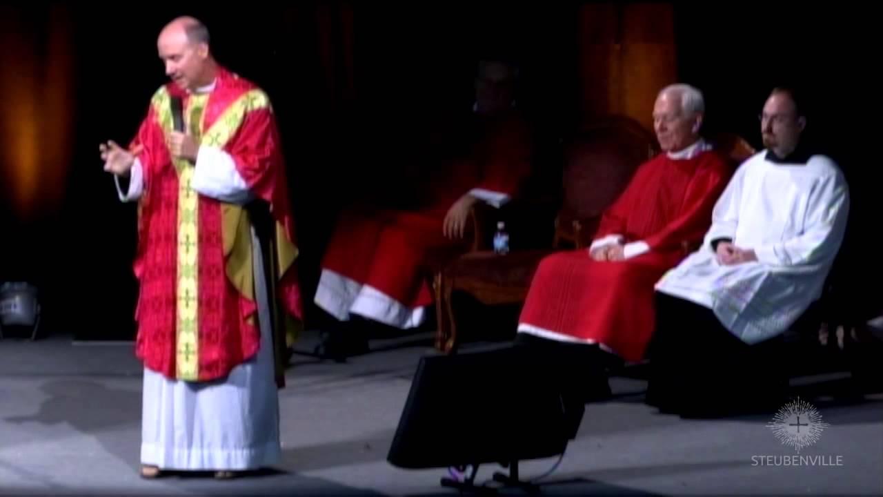 Father Dave Pivonka - Sunday Homily - Catholic Charismatic Conference