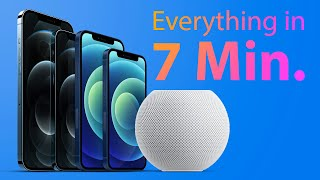 Entire Apple Event for iPhone 12 and HomePod Mini in 7 Minutes!
