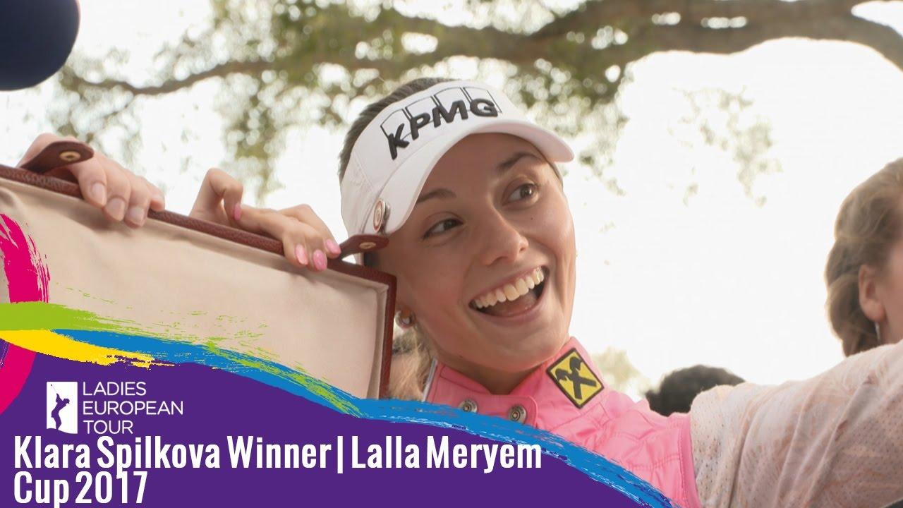 Image result for klara spilkova wins lalla meryem cup
