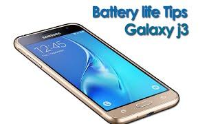 Battery life tips Samsung galaxy j3