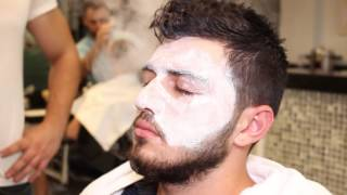 ASMR Turkish Barber Face And Head Massage With Facial 12