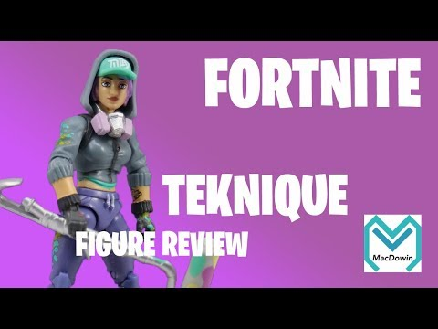2018 Teknique - Fortnite Action Figure Review