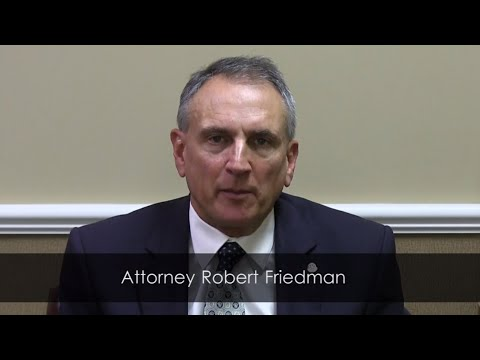Buffalo Lawyer Robert Friedman Discusses Forgery in the Third Degree