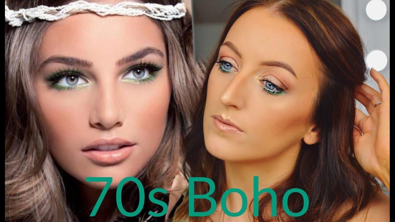 70s Boho Inspired Makeup Tutorial