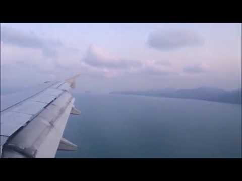 Bangkok to Koh Samui – Complete Flight – Time Lapse