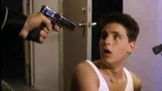 BLOWN AWAY (1992) VHS promo trailer - Corey Haim, Nicole Eggert, Corey Feldman