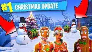 Fortnite Christmas Update - Fortnite Christmas Skins, Musique, Bande-annonce! (Fortnite Christmas 2018)